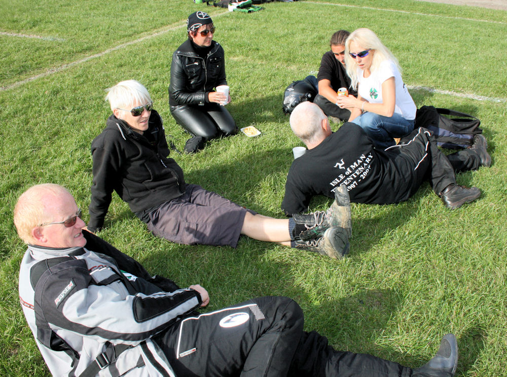 Bikers Association of North Devon gather to enjoy the live music