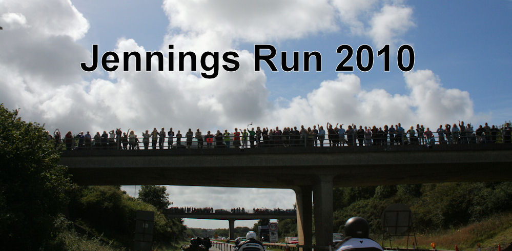Jennings Memorial Run is a major participation and spectator event