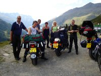 Highest Alpine pass-France 2005