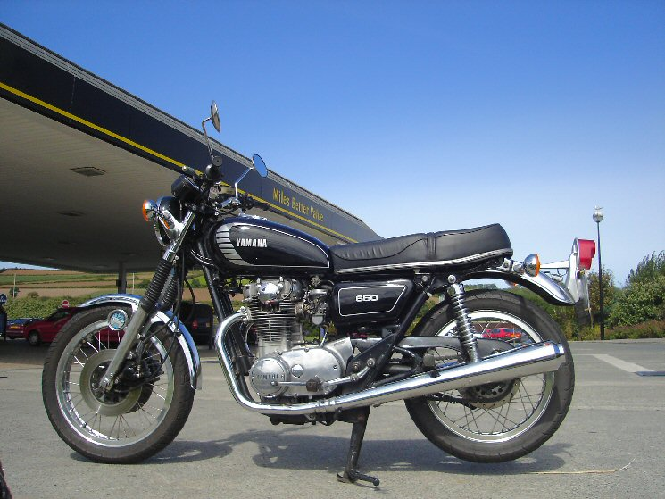 1978 Yamaha XS650 with dead bower ignition in Cornwall